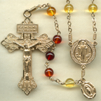 baltic amber rosary, amber rosary beads