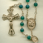 Emerald Onyx Rosary