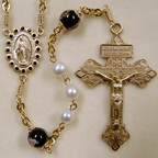 Freshwater Pearl rosary, pearl rosary