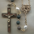 Indian Bloodstone Rosary
