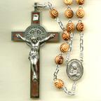 Large Olive Wood Rosary