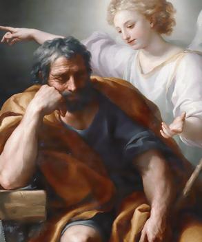 dream of st. joseph, angel
