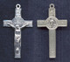 Sterling Silver St. Benedict Crucifix