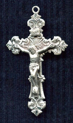 Sterling Silver Filigree Crucifix