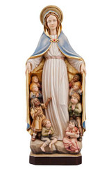 Blessed Mother with the Children Statue