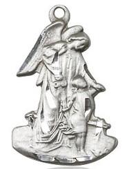 Sterling silver Guardian Angel figurine meal
