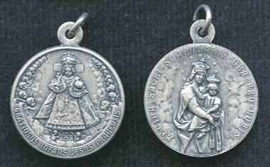 Infant of Prague / Our Lady of Mount Carmel Medal