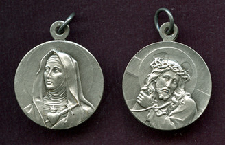 Our Lady of Sorrows / Our Lord Medal
