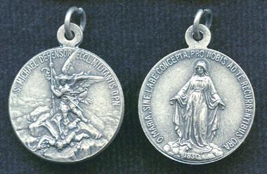 St. Michael Medal / Miraculous Medal