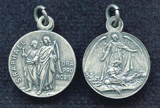 St. Raphael / Guardian Angel Medal