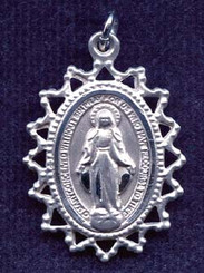 Miraculous Medal Filigree