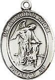 Sample angel medal