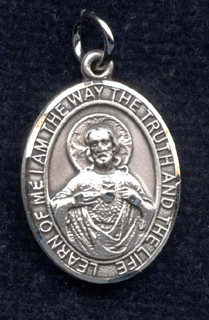 Sample medal of Our Lord