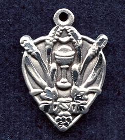 Blessed Sacrament Medal - Sterling Silver