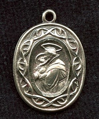 St. Anthony of Padua Medal with Border