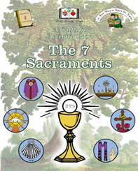 The 7 Sacraments Activity Book