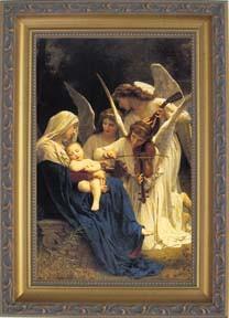 Song of Angels Framed Print