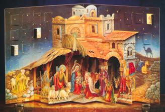 Nativity 3-D Pop-Up Advent Calendar