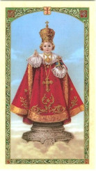 Front Side of Holy Card