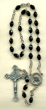 SAMPLE Nickel Silver Purgatory Chaplet