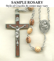 Sterling Silver Sample Rosary