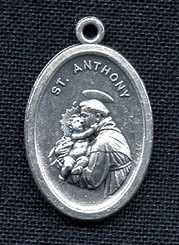 St. Anthony of Padua - Nickel Silver