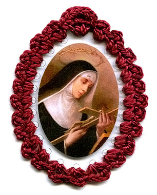 St. Rita Relic Badge