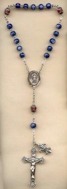 SAMPLE Sterling Silver St. Joan of Arc Chaplet