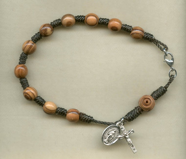 SAMPLE Cord Rosary Bracelet