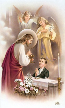 Communion Card - Boy