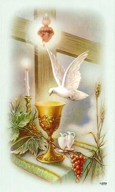Holy Spirit Holy Card