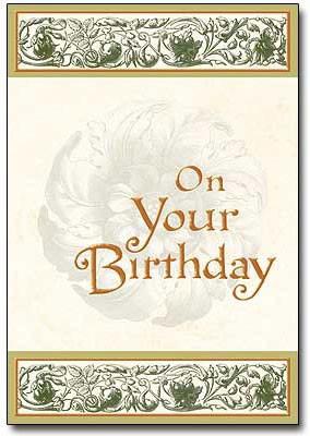 Sisters Of Carmel Religious Birthday Card