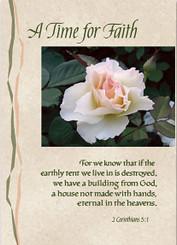 A Time for Faith Sympathy Card