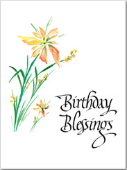 Birthday Blessings Birthday Card