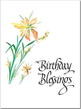 Birthday Blessings Birthday Card