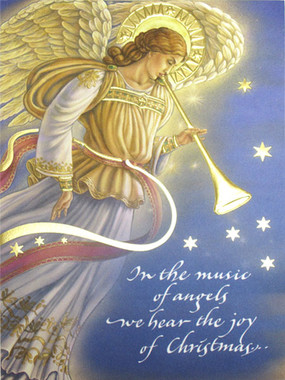 Music of Angels Christmas Card