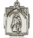 Sterling Silver St. Peregrine Medal