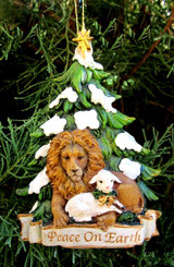 Lion & Lamb Ornament