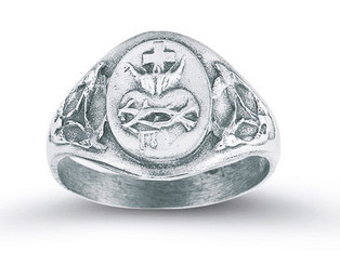 Sacred Heart of Jesus Ring