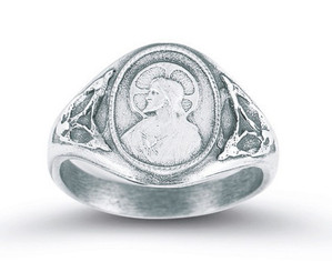 Sacred Heart Scapular Ring