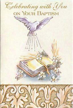 Celebrating Baptism Greeting Card
