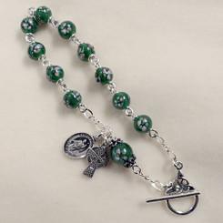 St. Patrick Celtic Rosary Bracelet