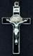 Black Enamel St. Benedict Crucifix