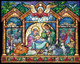 Nativity Stained Glass Advent Calendar