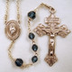 Crystal Our Lady of Fatima Rosary