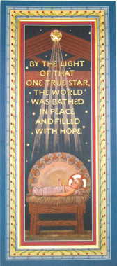 One True Star Christmas Card - Front