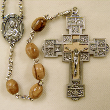 Olive Wood Passion rosary