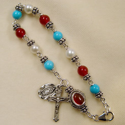 Our Lady of Guadalupe Rosary Bracelet