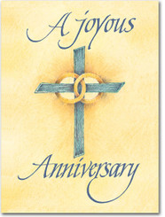 A Joyous Anniversary Greeting Card