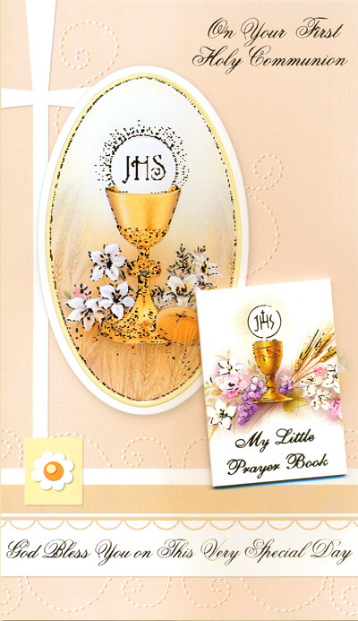 Sisters of carmel on your first communion greeting card on your first holy communion greeting card m4hsunfo